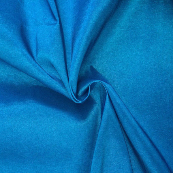 "Taffeta Stretch Fabric 2-Way Stretch 58"" Wide By The Yard (Turquoise)"