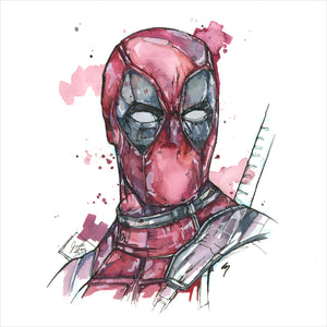 """Deadpool"" - 8x10 Reproduction Print"