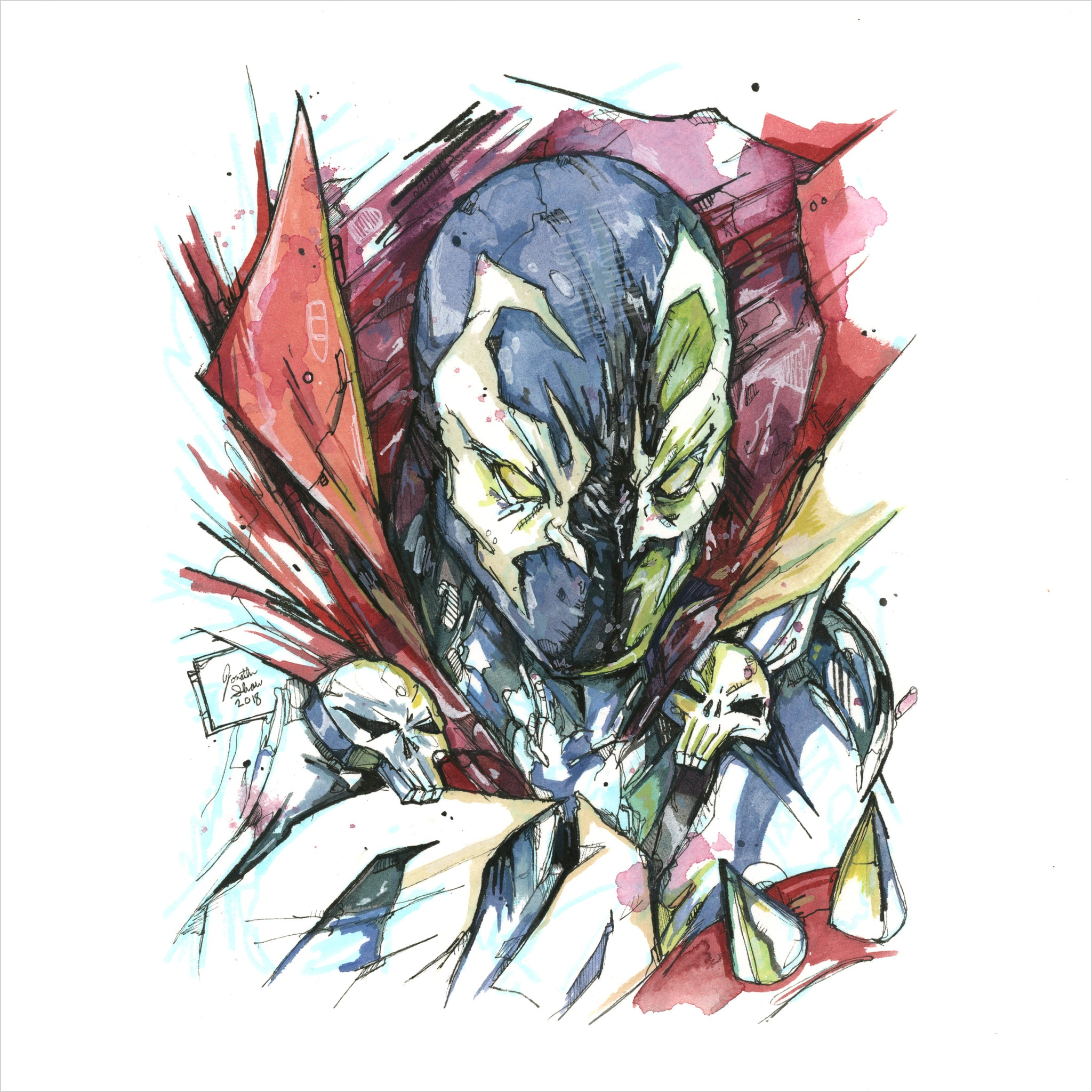 """Spawn"" - 8x10 Reproduction Print"