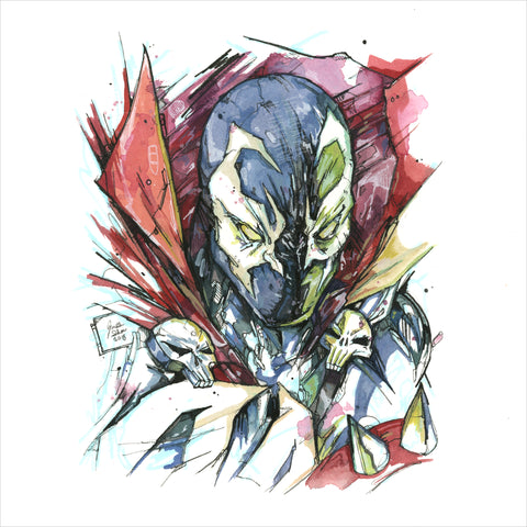 """Spawn"" - Original Illustration (SOLD)"