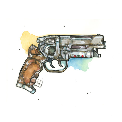 """Blaster"" - Original 8x10 Illustration (SOLD)"