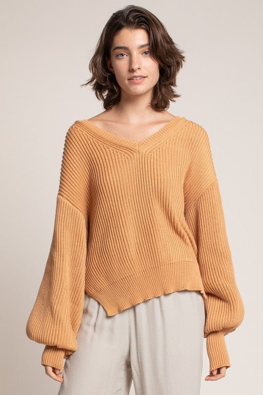 OVERSIZED MELON SWEATER