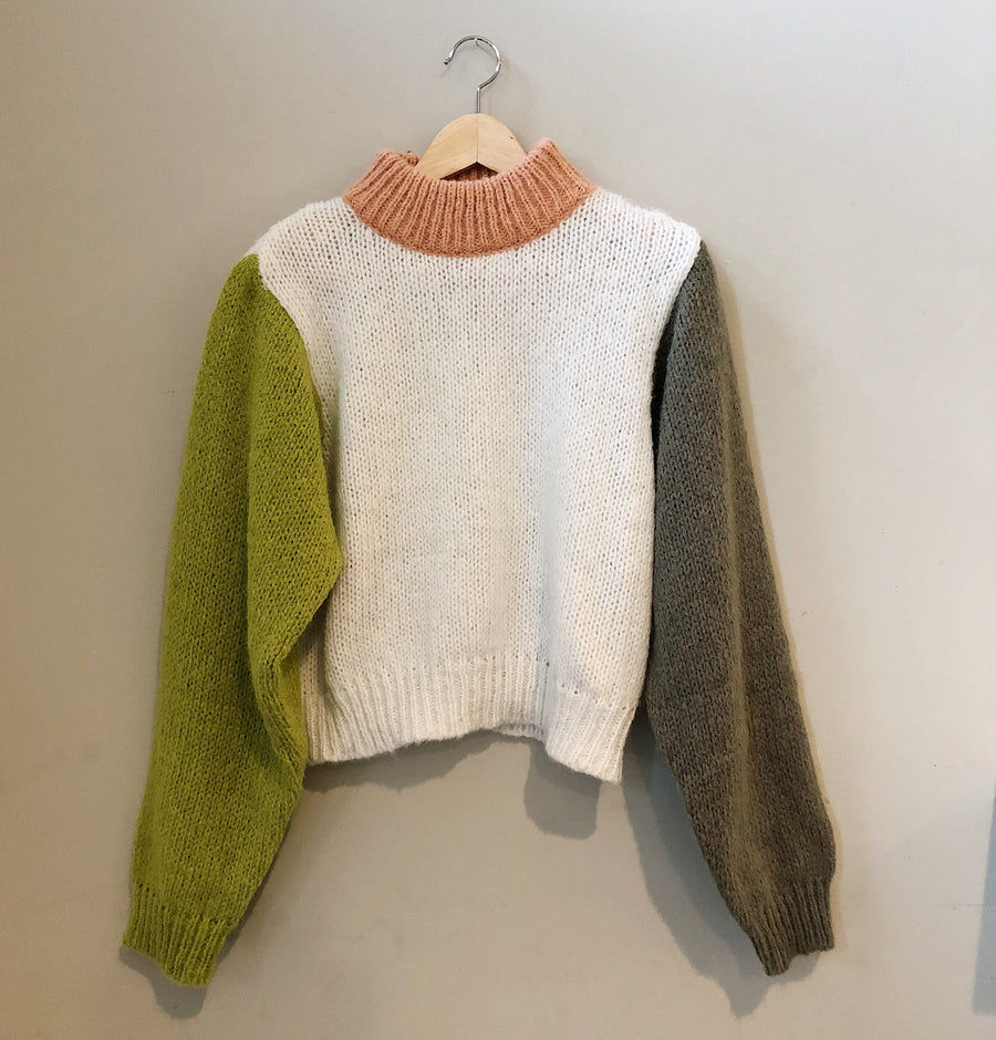 DUO CROPPED SWEATER