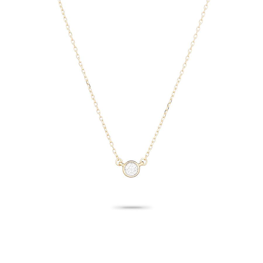 ADINA REYTER SINGLE DIAMOND NECKLACE