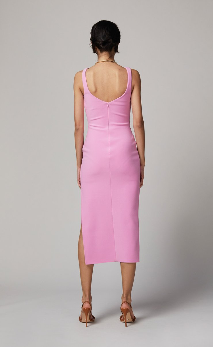 BEC + BRIDGE JOELLE MIDI DRESS - BUBBLE GUM