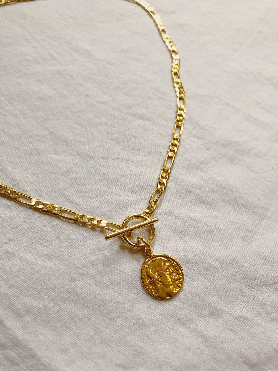 MIA FIGARO COIN NECKLACE