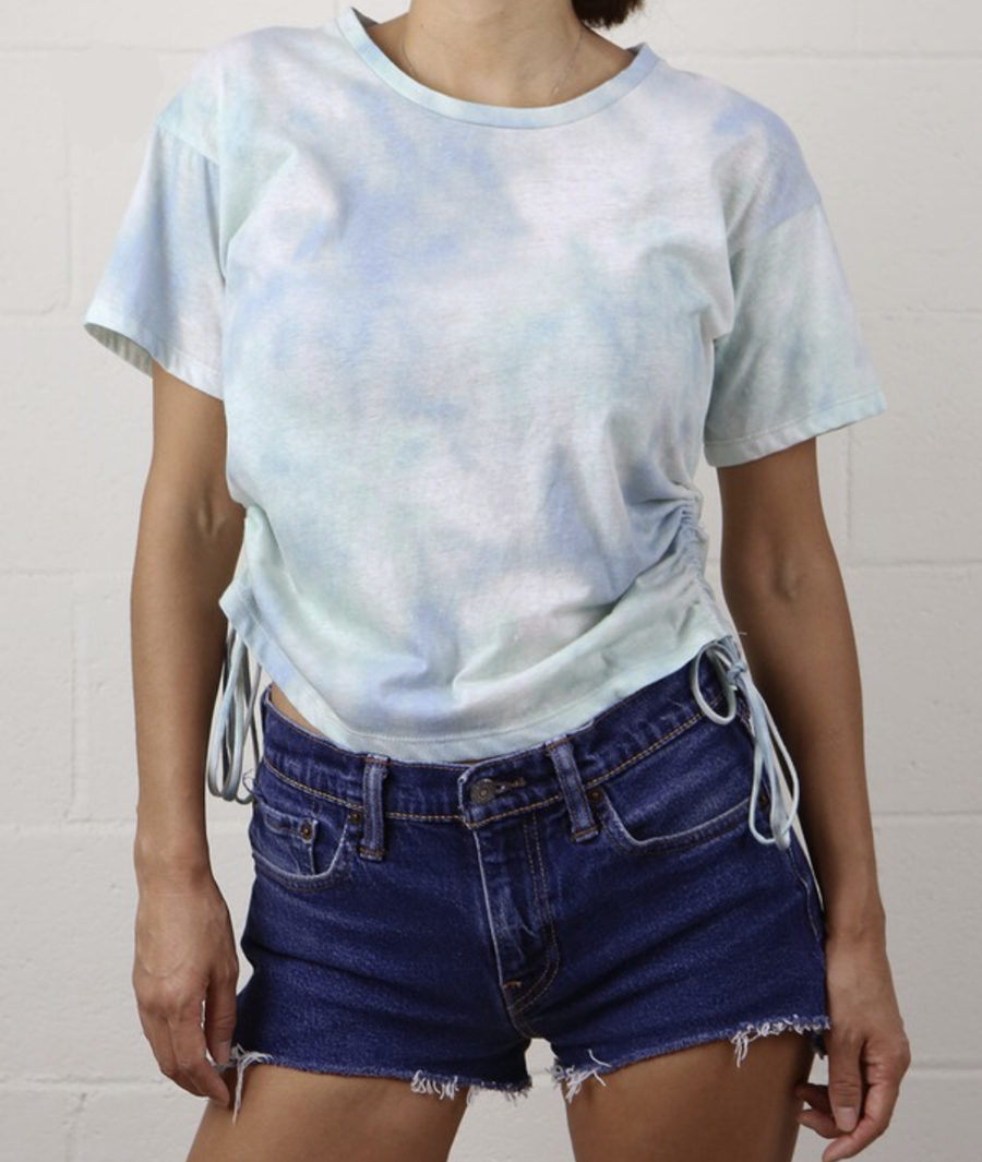 HAND DYED TIE DYE TEE
