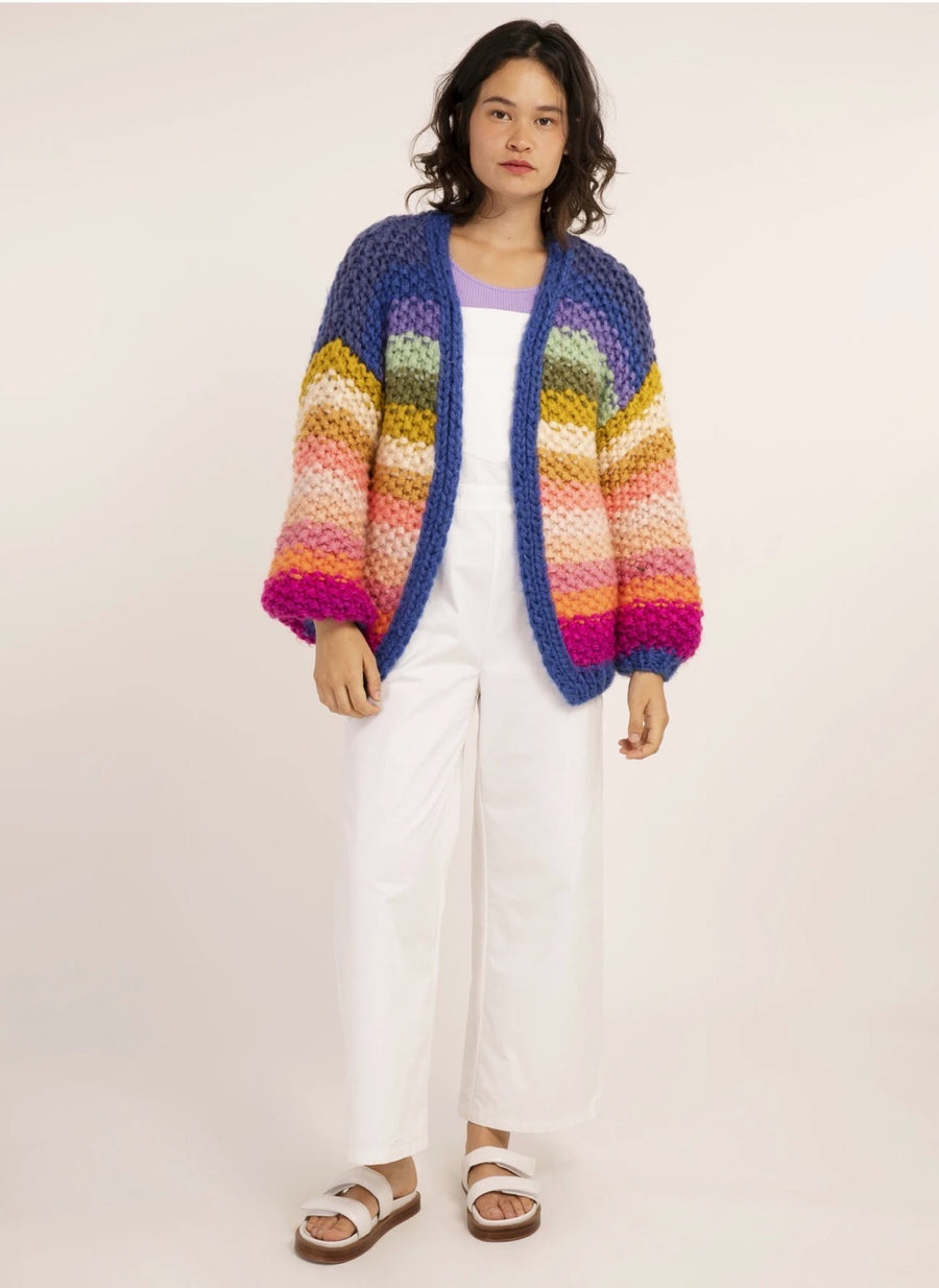ARC EN CIEL CARDIGAN (RAINBOW)