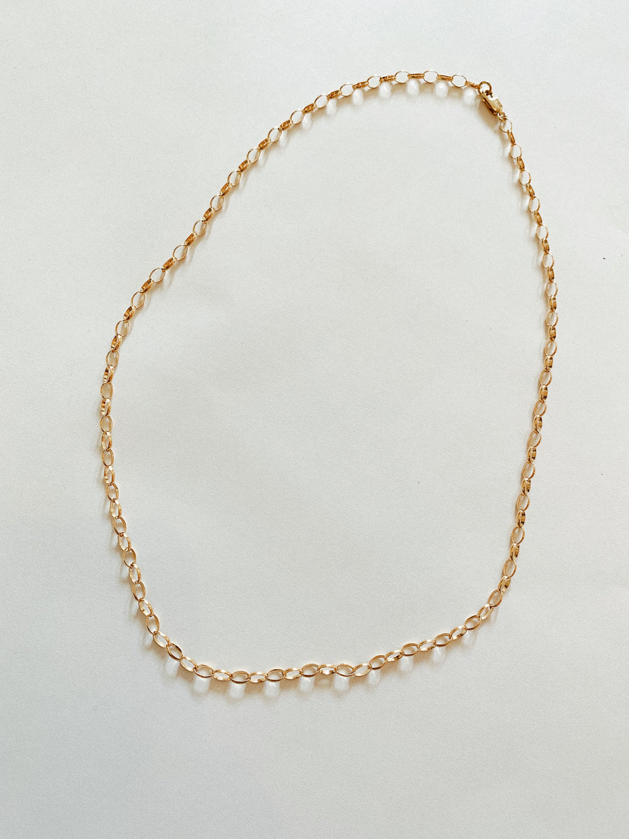 LARGE ROLO CHAIN NECKLACE