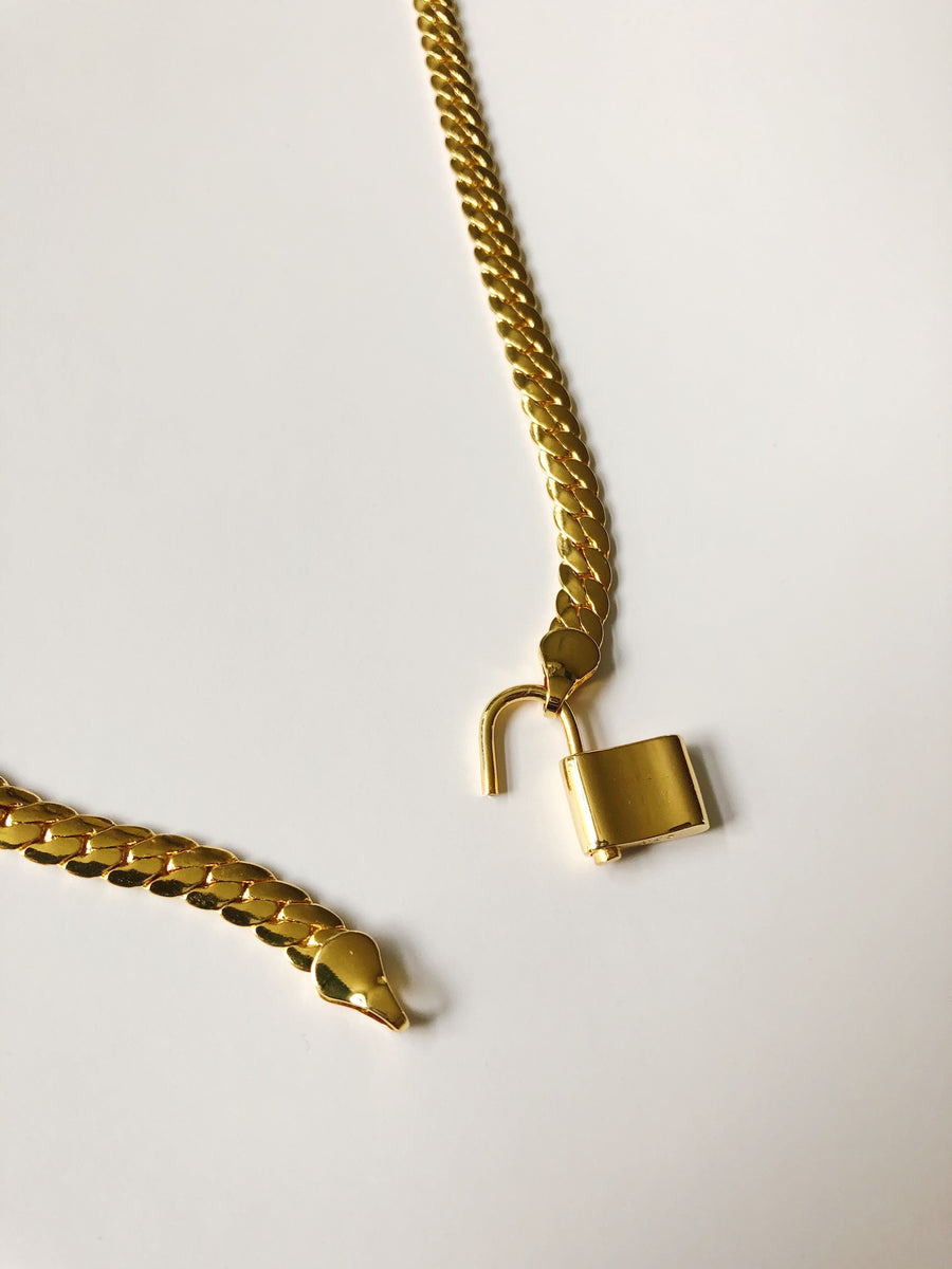 INDRA PADLOCK NECKLACE