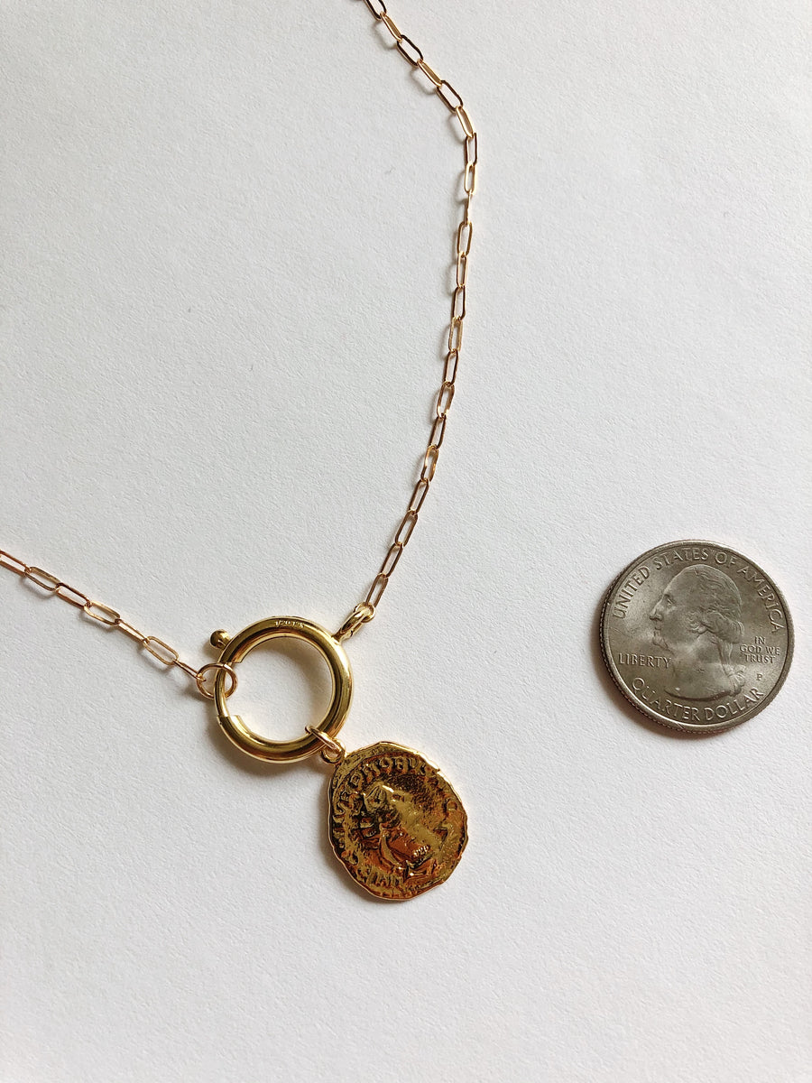GREEK ISLES COIN NECKLACE