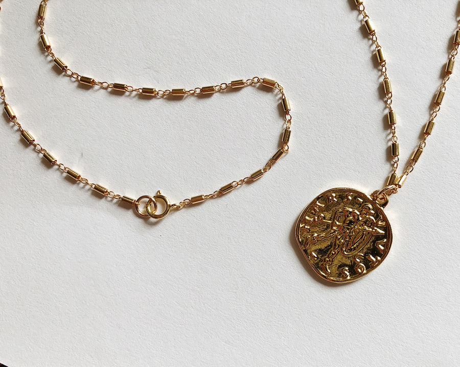 PENELOPE COIN NECKLACE