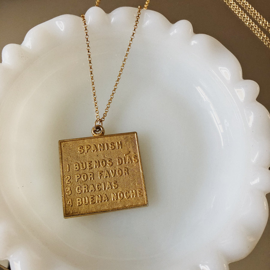 SPEAK TO ME NECKLACE - SPANISH