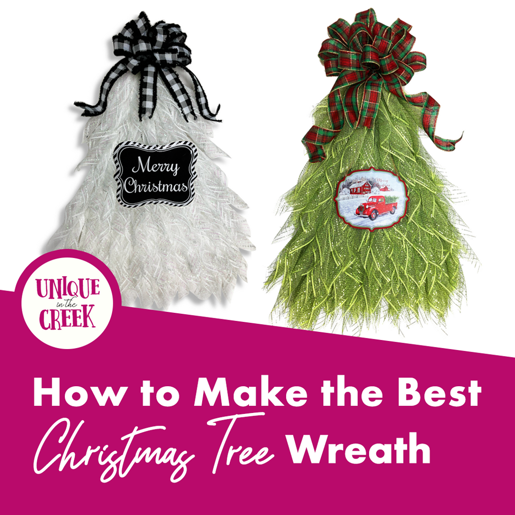 How to Make the Best Christmas Tree Wreath
