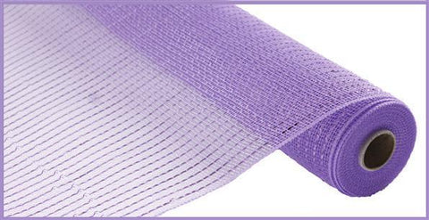 "Deco mesh - 10"" x 10yd LAVENDER Wide Foil - unique in the creek canada"