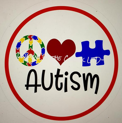 "110. AUTISM ""PAPER"" image center"