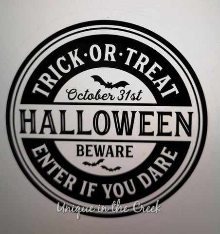 "142. TRICK OR TREAT HALLOWEEN ""VINYL"" image center"