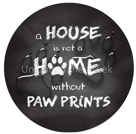 "17. A HOUSE IS NOT A HOME ""PAPER"" image center"