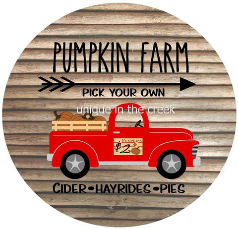 "20. PUMPKIN TRUCK ""PAPER"" image center"