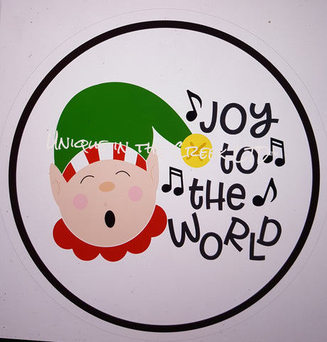 joy to the world with elf- digital insert for use with the UITC system