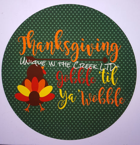 gobble til you wobble- digital insert for use with the UITC system