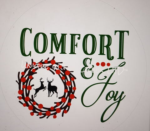 comfort and joy- digital insert for use with the UITC system