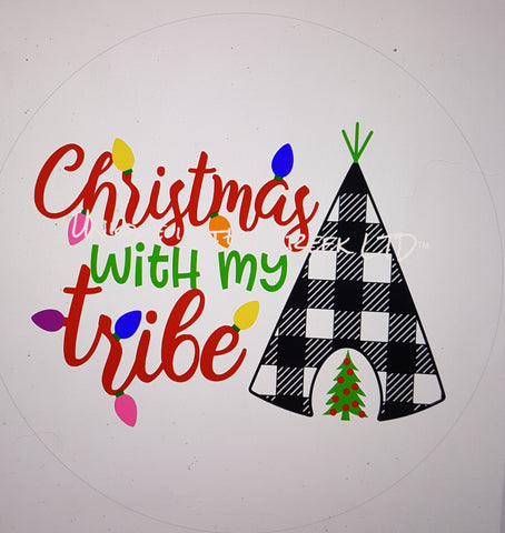 Christmas with our tribe- digital insert for use with the UITC system
