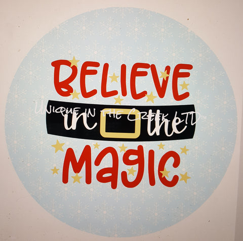believe in the magic- digital insert for use with the UITC system