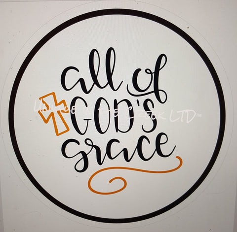all of gods grace- digital insert for use with the UITC system