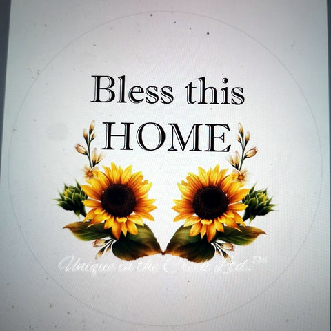 "Bless this home ""DIGITAL"" Image - Not a physical product"