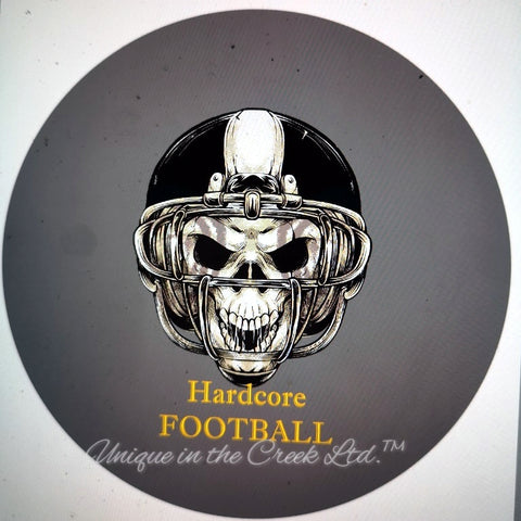 "Hard core football ""DIGITAL"" Image - Not a physical product"