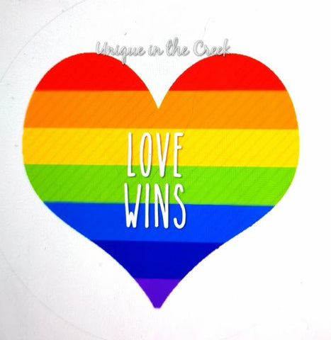 "216. LOVE WINS ""PAPER"" image center"