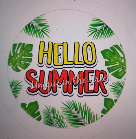 "255. HELLO SUMMER 6 ""VINYL"" image center"