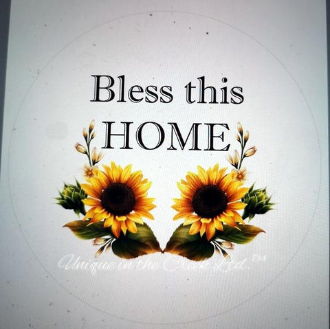 481. Bless This Home Chic Paper Insert