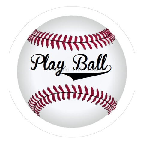 605. Play Ball- VINYL insert for use with the UITC system