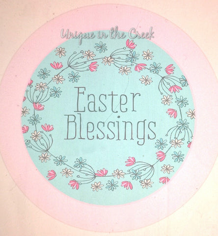 Easter Blessings- digital insert for use with the UITC system