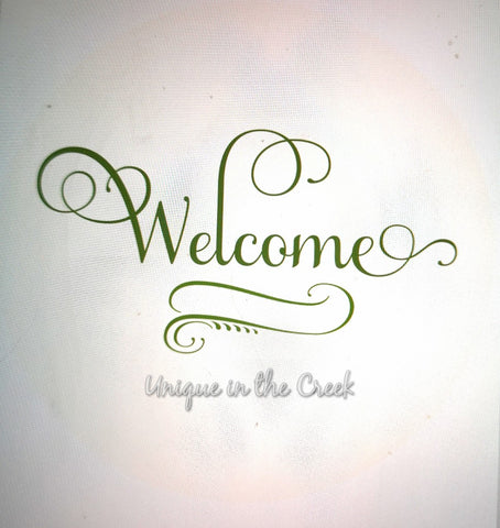 Welcome (used on tulip tutorial)- digital insert for use with the UITC system