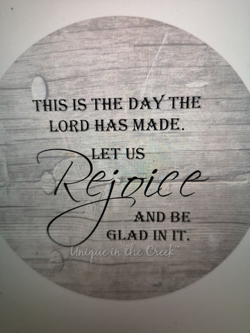 this is the day the lord rejoice - digital insert for use with the UITC system