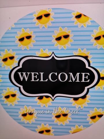 Welcome suns - digital insert for use with the UITC system
