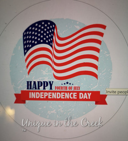 HAPPY 4TH OF JULY - digital insert for use with the UITC system