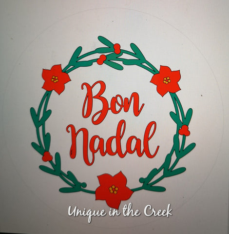 Bon Nadal- digital insert for use with the UITC system