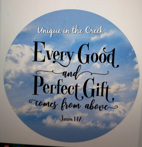 Every good and perfect gift comes from above - digital insert for use with the UITC system