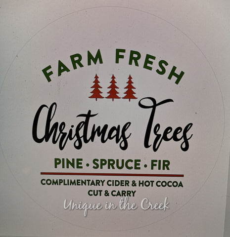 Farm Fresh Christmas Trees - digital insert for use with the UITC system