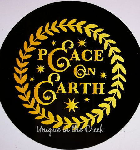 Peace on Earth- digital insert for use with the UITC system