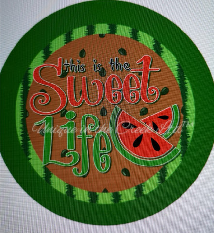 "532. THis is the sweet life ""VINYL"" image center"
