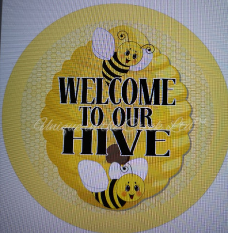 "533. Welcome to the Hive ""VINYL"" image center"