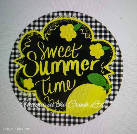 "541. Sweet summertime w Lemons""VINYL"" image center"