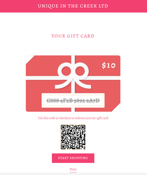 UITC E-Gift Cards