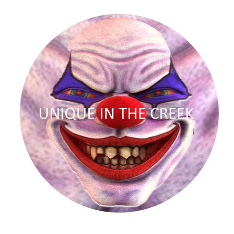 KREEPELLA the CLOWN Digital center for Unique in the Creek Character Wreathing system