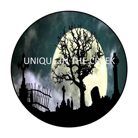 GHOULISH GRAVEYARD - Digital Insert for use with the UITC system